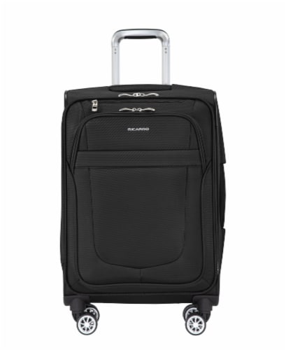 Ricardo Beverly Hills Berkeley 2.0 4WB Softside Luggage - Black Perspective: front