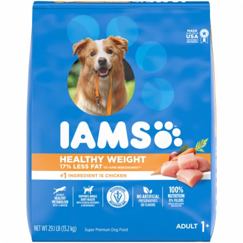 IAMS Healthy Weight with Chicken Adult Dog Food Perspective: front