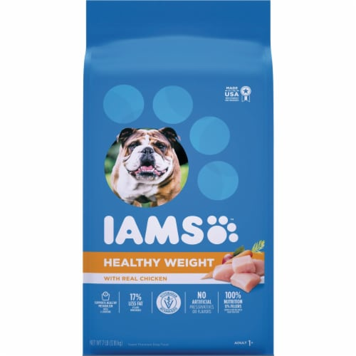 IAMS Proactive Health Weight Control 7 Lb. Adult Dry Dog Food 111239 Perspective: front