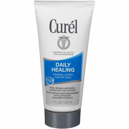 Curel Daily Healing Original Lotion for Dry Skin Perspective: front