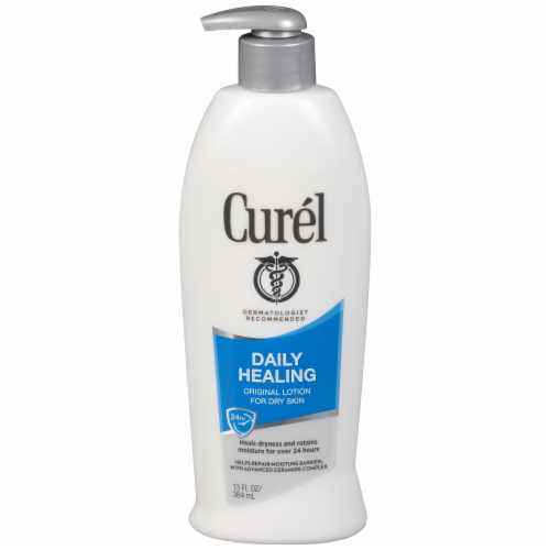 Curel Daily Healing Original Dry Skin Lotion Perspective: front