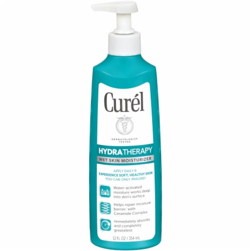 Curel HydraTherapy Wet Skin Moisturizer Perspective: front
