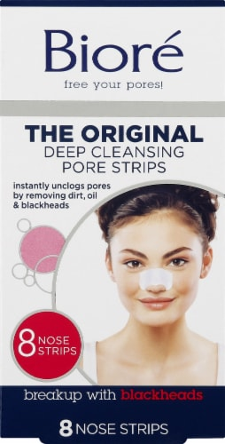 Biore Deep Cleansing Pore Strips Perspective: front