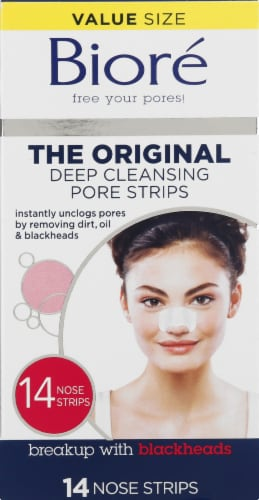 Biore Deep Cleansing Nose Pore Strips Perspective: front