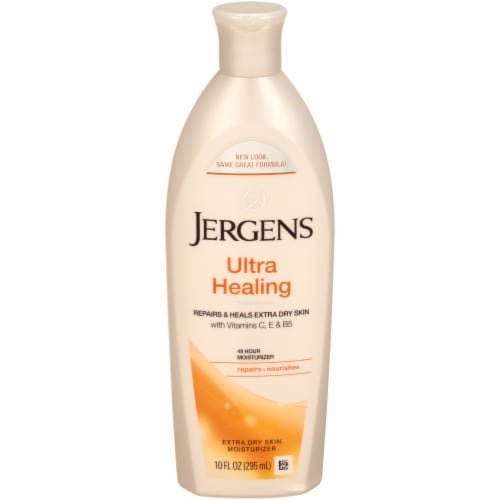Jergens Ultra Healing Extra Dry Skin Moisturizer Perspective: front