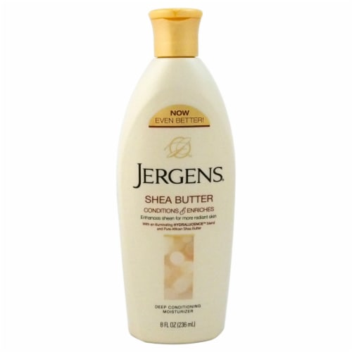 Jergens Shea Butter Deep Conditioning Moisturizer 8 oz Perspective: front
