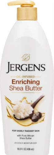 Jergens Oil-Infused Enriching Shea Butter Moisturizer Perspective: front