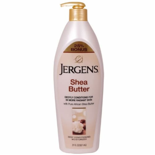 Jergens Shea Butter Skin Enriching Moisturizer Perspective: front