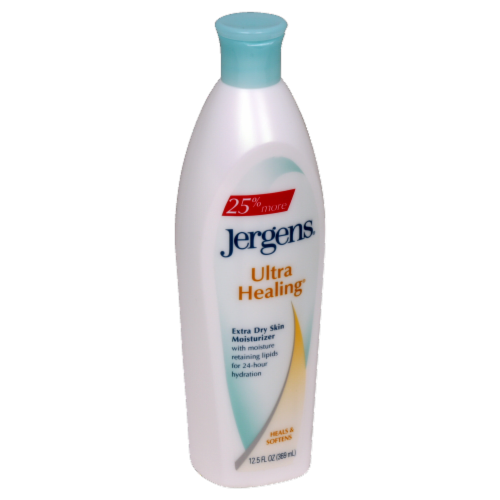 Jergens Ultra Healing Lotion Perspective: front