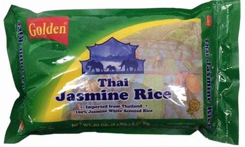 Golden Thai Jasmine Rice Perspective: front