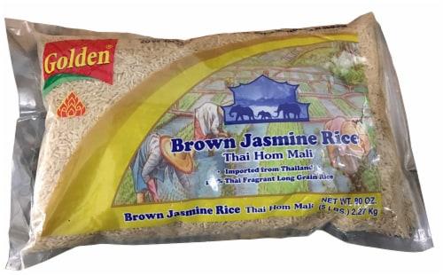 Golden Brown Jasmine Rice Perspective: front