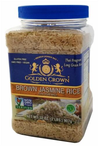 Golden Crown Brown Jasmine Rice Perspective: front