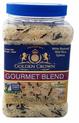 Golden Crown Basmati Gourmet Rice Blend Perspective: front