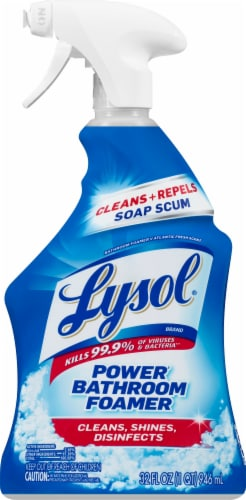 Lysol Island Breeze Bathroom Cleaner Trigger Perspective: front