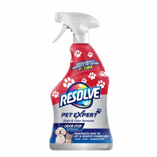 Resolve Pet Expert Stain & Odor Remover Perspective: front