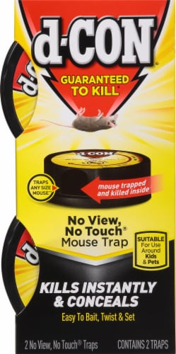 d-CON® No-View No-Touch Mouse Trap Perspective: front