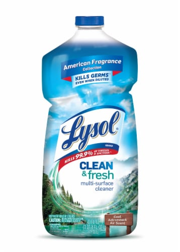 Lysol Clean & Fresh Cool Adirondack Air Multi-Surface Cleaner Perspective: front