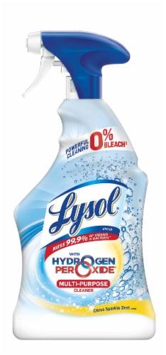 Lysol Bleach-Free Citrus Sparkle Zest Scent Multi-Purpose Cleaner Perspective: front