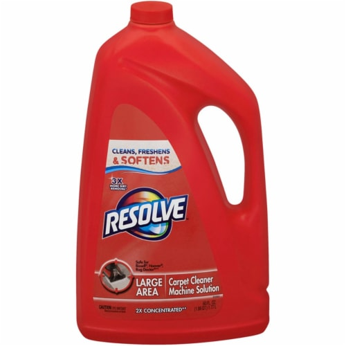 Resolve  Carpet Cleaner  60 oz. Liquid  Concentrated - Case Of: 1; Perspective: front