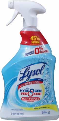 Lysol® Hydrogen Peroxide Multi-Purpose Cleaner Perspective: front