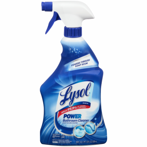Lysol Power Bathroom Cleaner Perspective: front