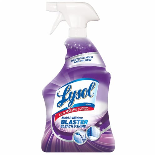 Lysol Mold and Mildew Blaster Bleach and Shine Perspective: front