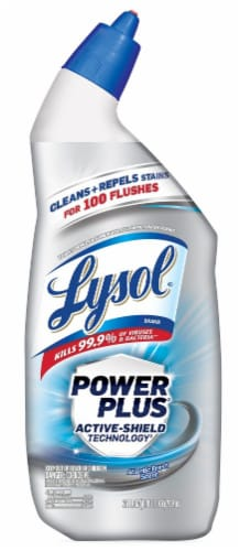 Lysol Power Plus Atlantic Fresh Toilet Bowl Cleaner Perspective: front