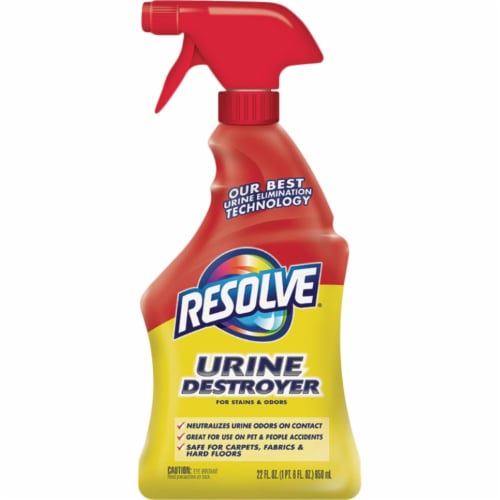 Resolve  Urine Eliminator  22 oz. Liquid - Case Of: 6; Perspective: front