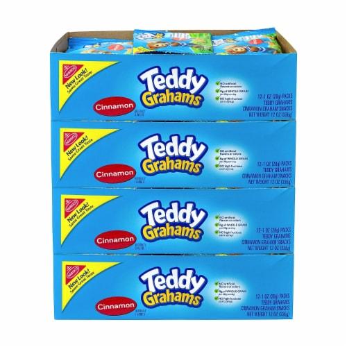 Teddy Grahams Cinnamon - 1 oz. bag, 48 per case Perspective: front