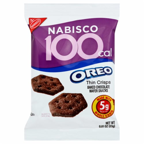 Oreo Cookies 100 Calorie Pack, .81 Ounce -- 72 Case Perspective: front