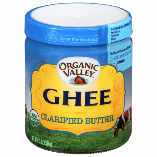 Organic Valley Ghee Clarified Butter Perspective: front