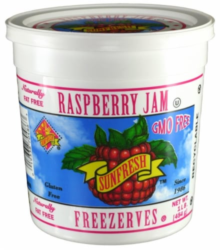 Sunfresh Raspberry Jam Freezerves Perspective: front