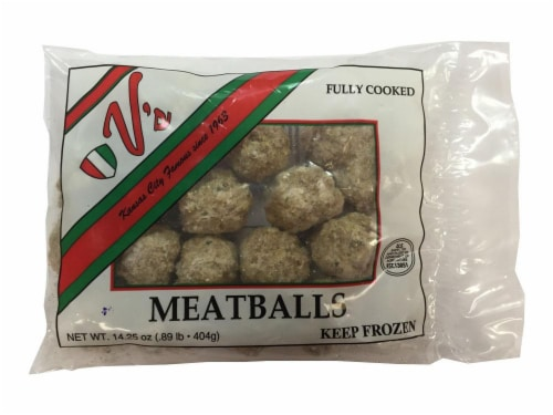 V's Italian Style Meatballs Perspective: front