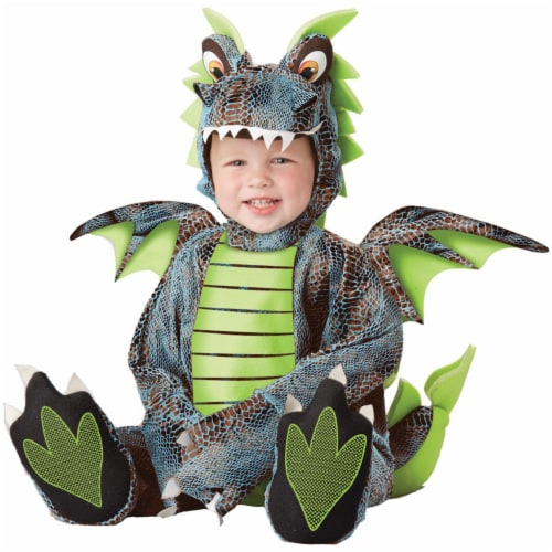Morris Costumes CC10024TS Darling Dragon Toddler Costume, 12-18 Months Perspective: front