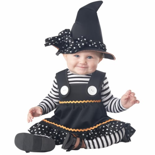 Morris Costumes CC10048TM Crafty Lil Witch Toddler Costume, Size 18-24 Perspective: front