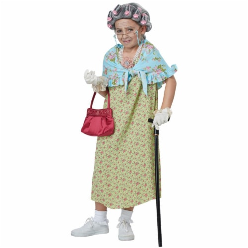 Morris Costumes CC60653 Childs Old Lady Costume Kit - One Size Perspective: front