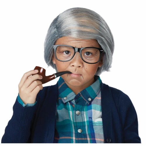 Morris Costumes CC60737 Old Man Child Comb Over Kit - One Size Perspective: front