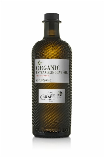 Carapelli Organic Extra Virgin Olive Oil Perspective: front