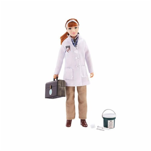 Breyer BH522 Traditional Veterinarian Laura with Vet Kit Perspective: front
