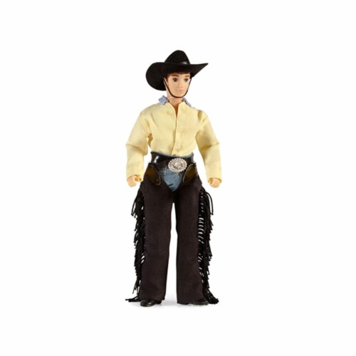 Breyer BH536 Traditional Austin Cowboy Figure Perspective: front