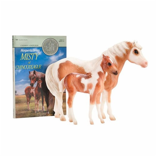 Breyer BH1157 Traditional Misty & Stormy Gift Set Perspective: front