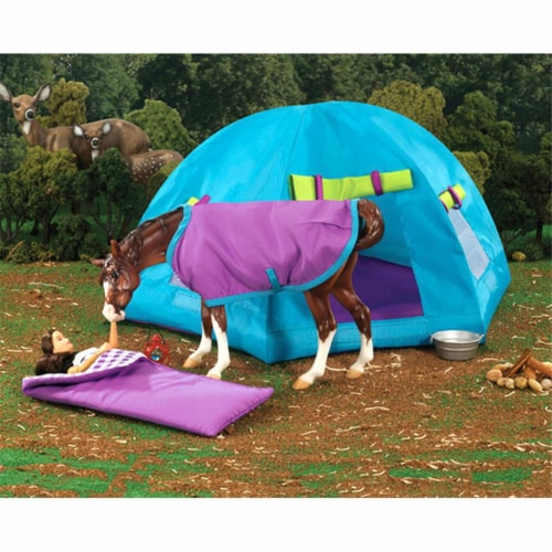 Breyer BH1380 Traditional Back Country Camping Set Perspective: front