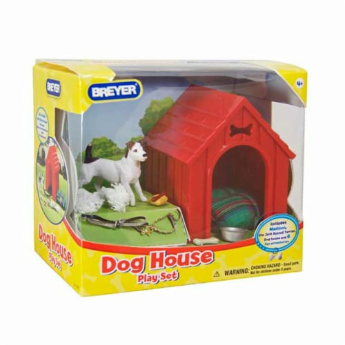 Breyer BH1508 Dog House Play Set Perspective: front