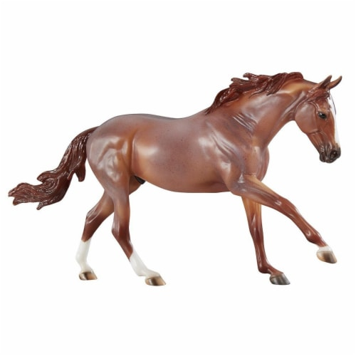 Breyer 1829 Hand-Painted Peptoboonsmal Horse Model Collectible Toy 1:9 Scale Perspective: front