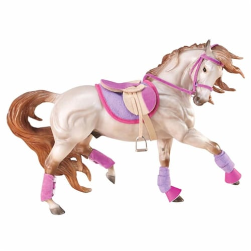 Breyer BH2050 Traditional English Riding Set Hot Color Horse Perspective: front