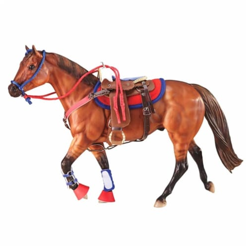 Breyer BH2051 Traditional Western Riding Set Hot Color Horse Perspective: front