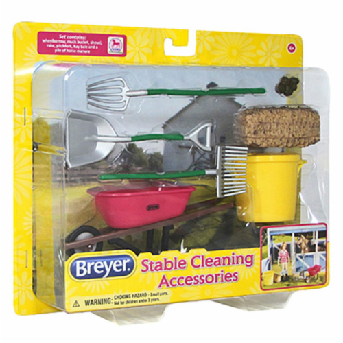 Breyer BH61074 Classics Stable Cleaning Set Perspective: front