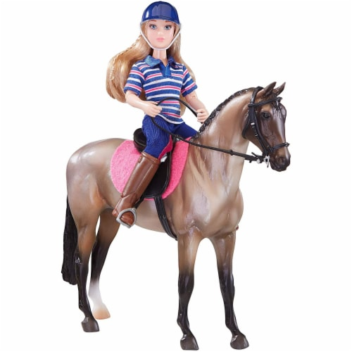 Breyer BH61114 Classics English Horse & Rider Perspective: front