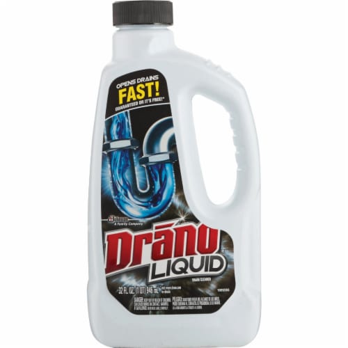 Drano 32 Oz. Liquid Drain Cleaner 00116 Perspective: front