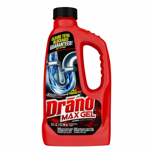 Drano Max Gel Clog Remover Perspective: front